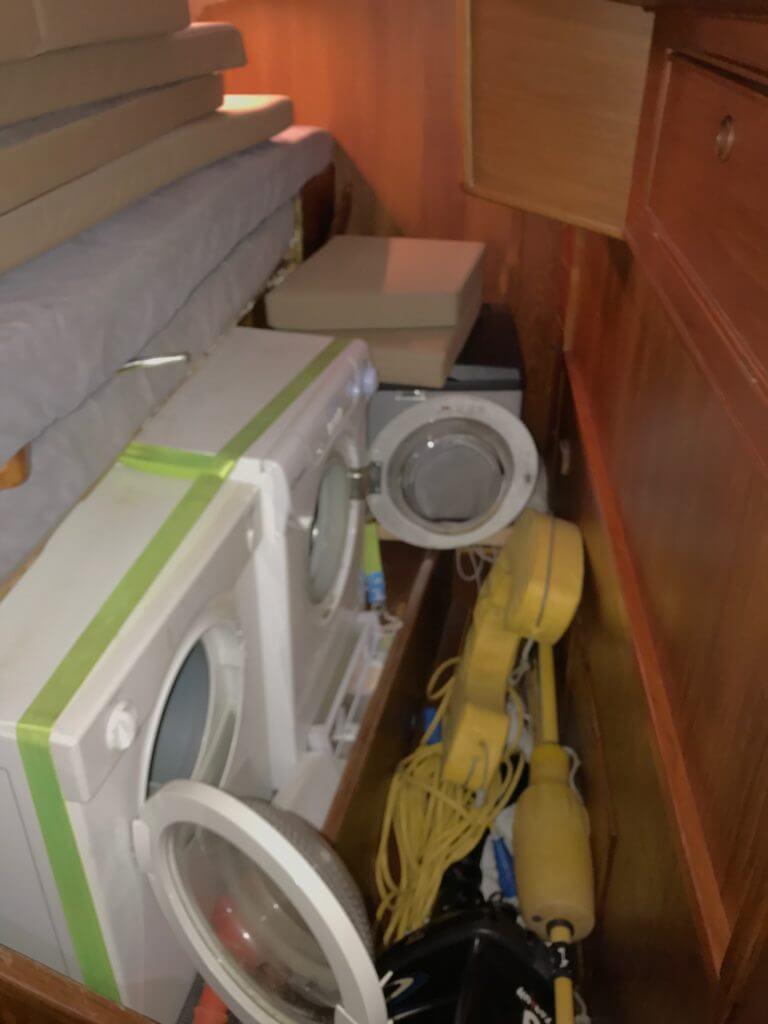 Waschküche und Rumpelkammer