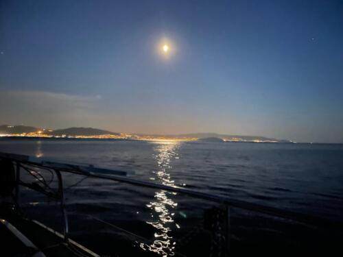 Vigo bei Nacht