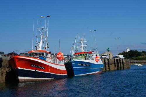 Fischerboote in Roscoff