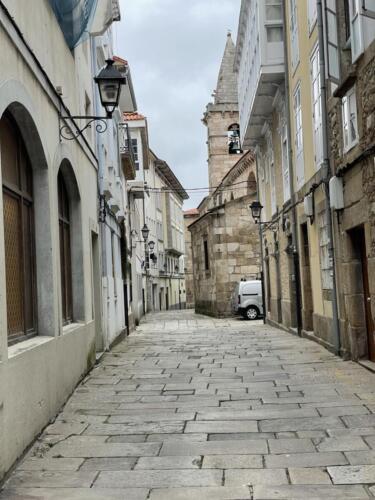 A Coruña Altstadt